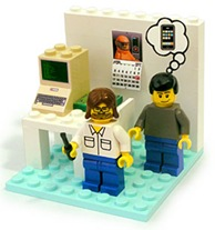 Read more about the article Woz And Jobs Lego Playset