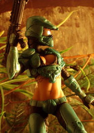 Read more about the article Halo Female Master Chief Action Figure