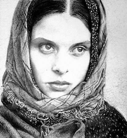 Read more about the article Dave Archambault's Ballpoint Pen Art Portrait of Nastassja Kinski