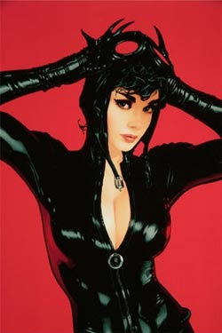 Read more about the article Sexy Catwoman Art Print By Adam Hughes