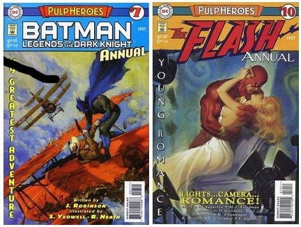 Read more about the article Marvel Comics Pulp Style Covers Gallery
