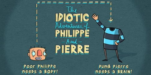 Read more about the article The Idiotic Adventures of Philippe and Pierre – Animated Web Series