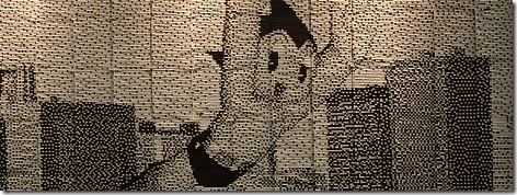 Read more about the article Astro Boy Mural Made From Recycled Train Tickets