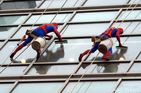 Read more about the article Spiderman Spotted in China