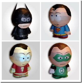 Read more about the article Park Heroes – DIY Superhero Paper Models