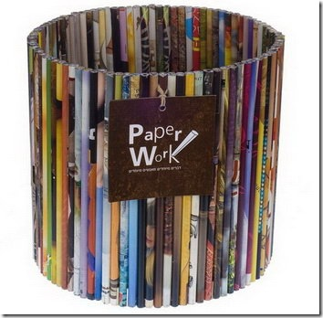Read more about the article Storage Baskets Made From Recycled Magazines