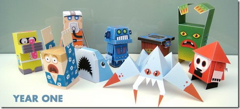 Read more about the article Retro Papercraft Models of Marshall Alexander