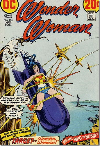 Read more about the article Wonder Woman and the Phallic Menace – Comic Book Covers