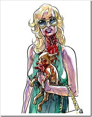 Read more about the article Portraits As Living Deads – Celebrities As Zombies