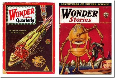 Read more about the article Retro Pulp Magazine Covers Illustrated by Frank R. Paul