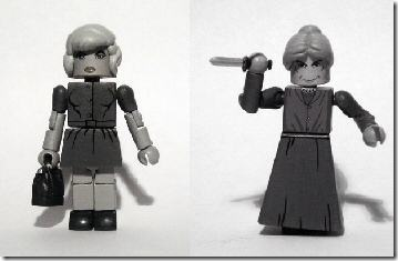 Read more about the article Custom Toys Based On Hitchcock's Psycho