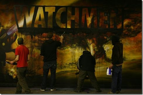 Read more about the article Watchmen Graffiti Time Lapse Video
