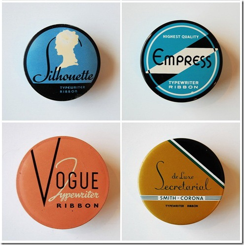 Read more about the article Vintage Typewriter Ribbon Tins