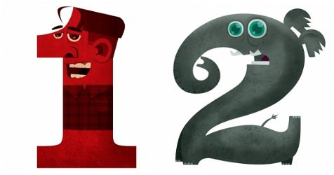 Read more about the article Illustrations of Numbers as Characters