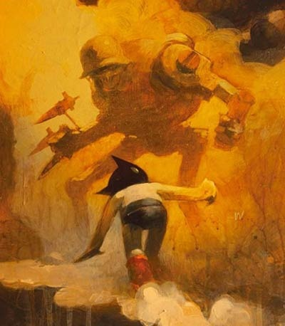 Read more about the article Astro Boy Art By Ashley Wood