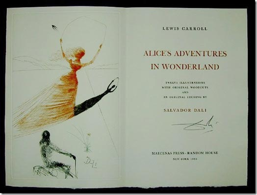 Read more about the article Alice in Wonderland – Illustrated By Salvador Dali