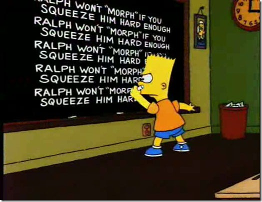 Read more about the article Bart's Blackboard