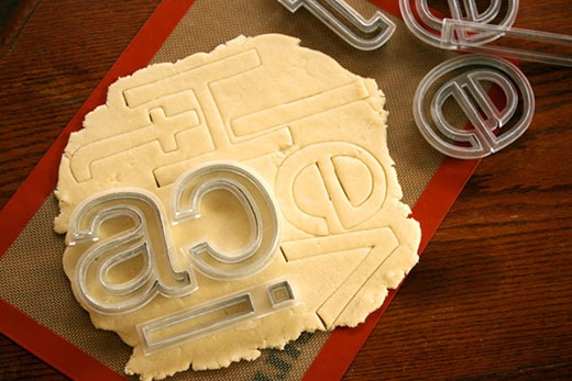 Read more about the article Helvetica Cookie Cutters