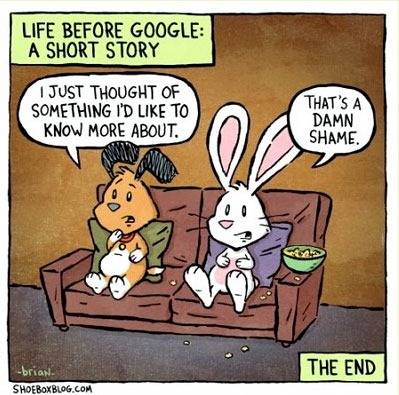 Read more about the article Life Before Google: A Short Story