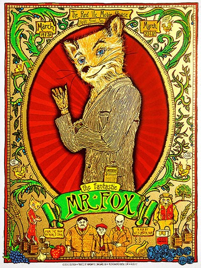 Read more about the article The Fantastic Mr. Fox Collectible Print