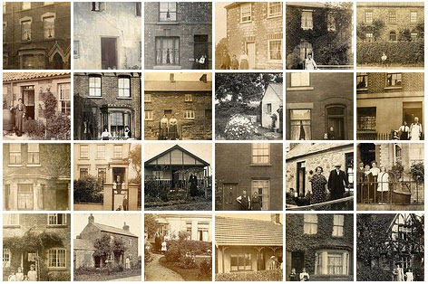 Read more about the article Vintage Photographs of People Standing Outside Their Homes