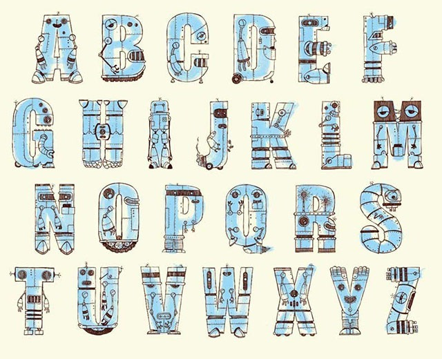 Read more about the article Robot Alphabets By Jimbot