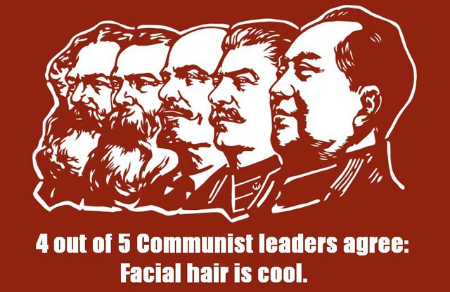 Read more about the article Communist Leaders Prefer Facial Hair