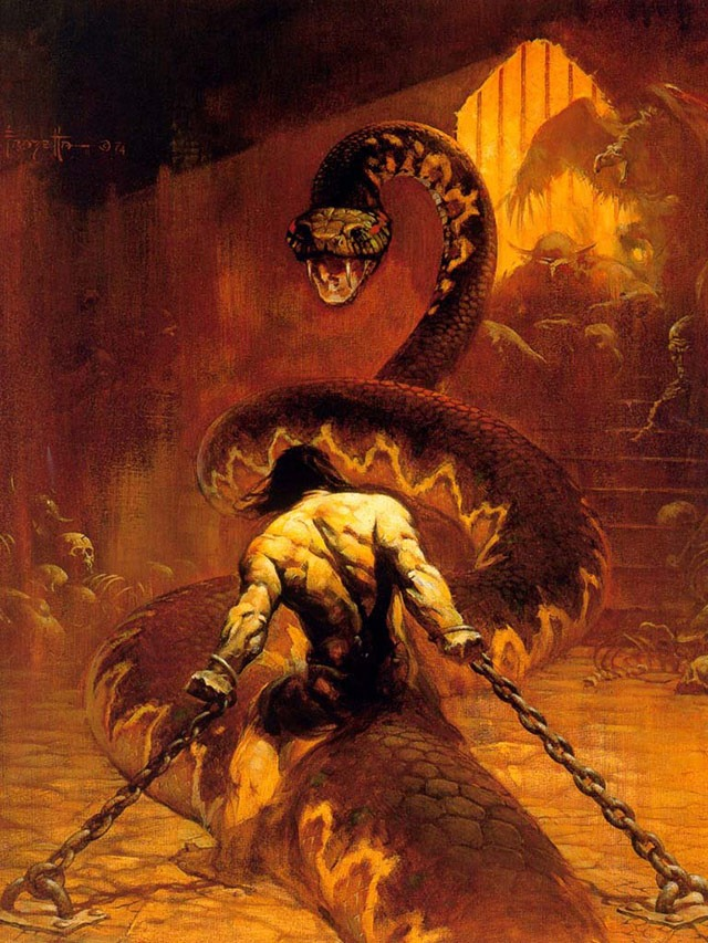 Read more about the article Frank Frazetta, RIP