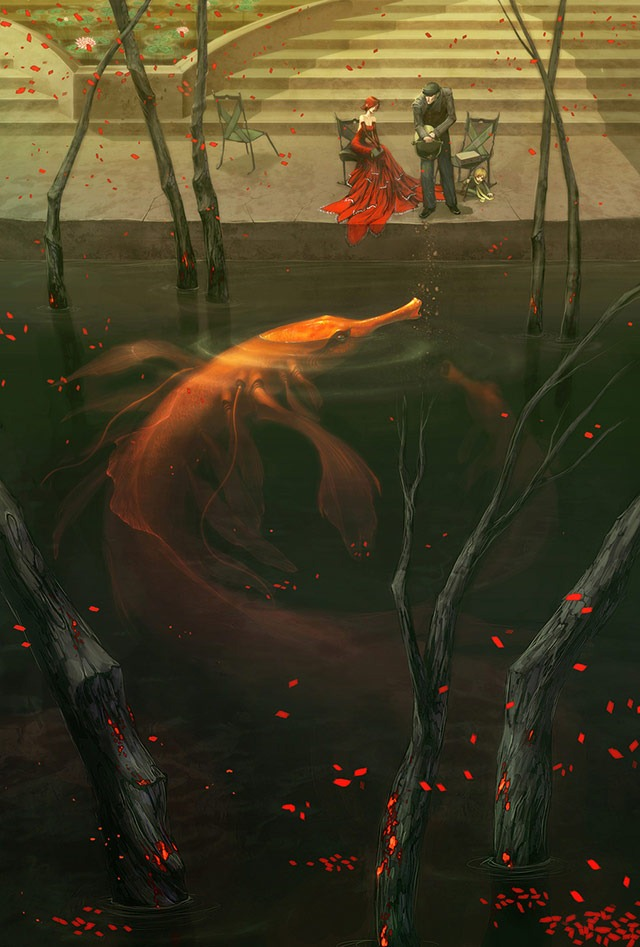 Read more about the article Flesh and Gold – Fantasy Art Print