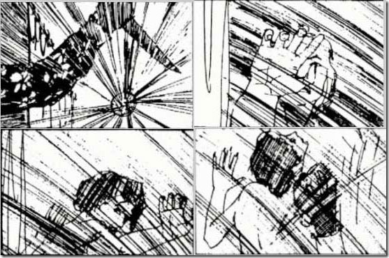 Read more about the article Psycho – Original Shower Scene Storyboard By Saul Bass