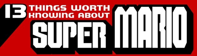 Read more about the article 13 Things Worth Knowing About Super Mario – Infographic