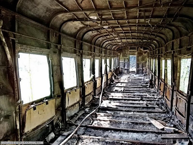 Read more about the article Russian Train Cemetery
