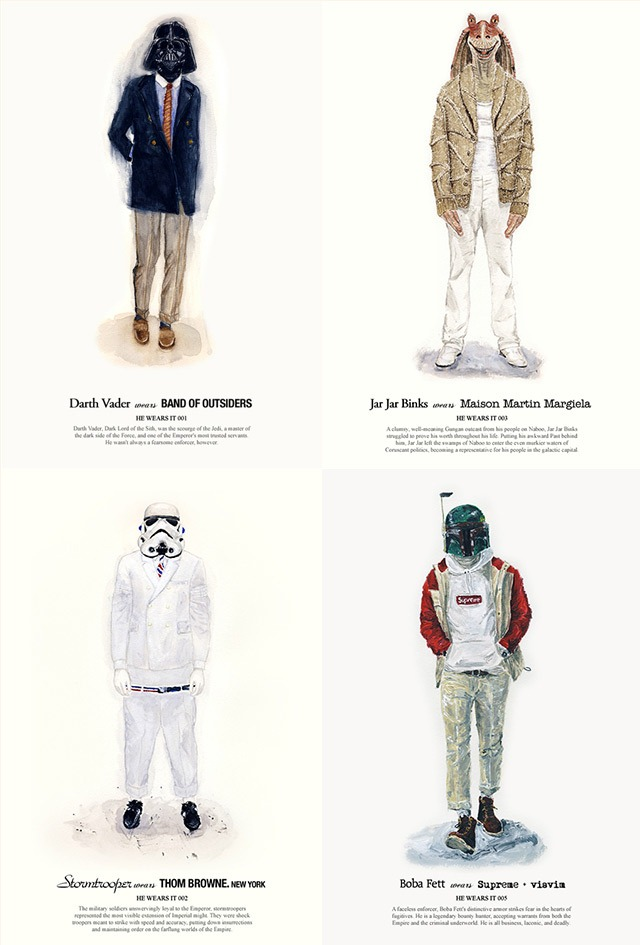 Read more about the article Star Wars Characters Dressed Fashionably