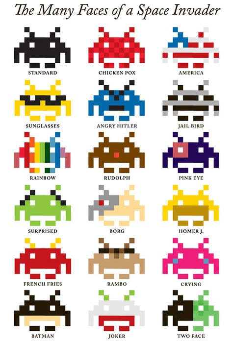 Read more about the article The Many Faces of a Space Invader
