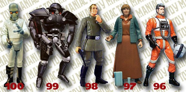 Read more about the article The Top 100 Star Wars Figures