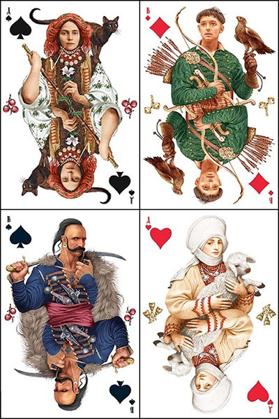 Read more about the article Playing Cards From Ukraine