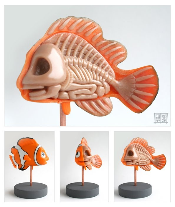 Read more about the article Finding Nemo Anatomy Sculpture