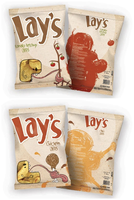 Read more about the article Conceptual Packaging Designs For Lay's Chips