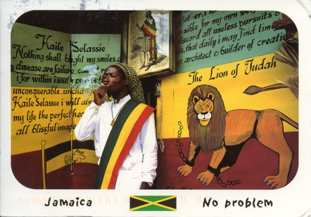 Read more about the article Postcard of a Rastafarian From Jamaica