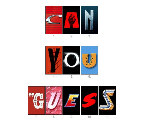 Read more about the article Can You Guess The Movie From Just One Letter?
