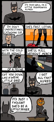 Read more about the article Batman is a Little Disappointed About Catwoman