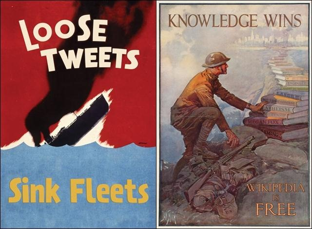 Read more about the article Faux WWII Propaganda Posters