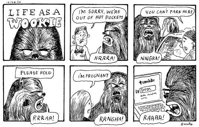 Read more about the article Life as a Wookie
