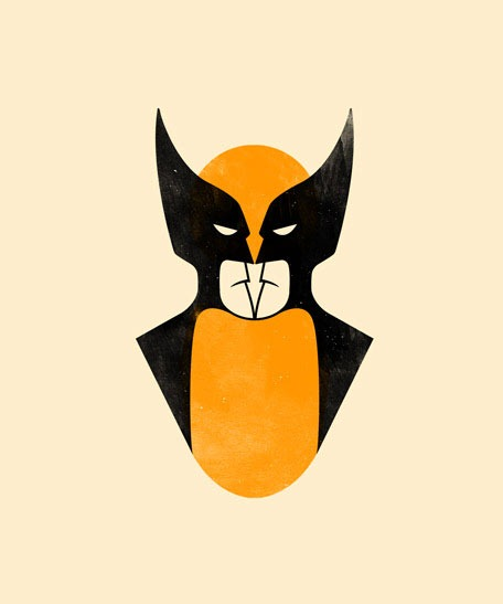 Read more about the article 'Wolverine Batman' by Olly Moss