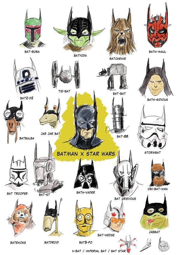 Read more about the article Batman x Star Wars