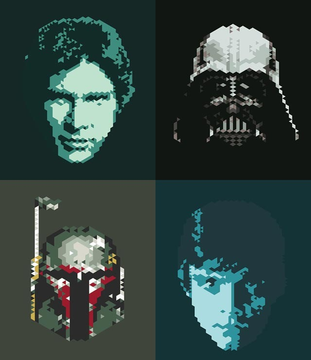 Read more about the article Star Wars Pixel Art Series