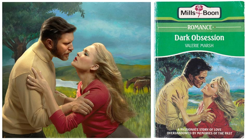 Read more about the article Vintage Mills and Boon Book Covers Brought to Life