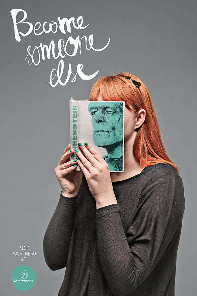 Read more about the article Become Someone Else – Interesting Print Ads