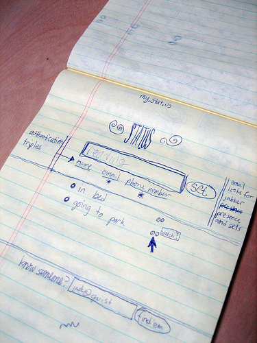 Read more about the article Original Sketch of the Twitter UI