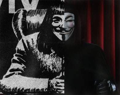 Read more about the article V for Vendetta Televised Speech – Original Comic Strip Scans